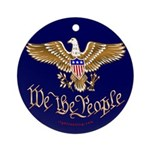 We the People Ornament (Round)