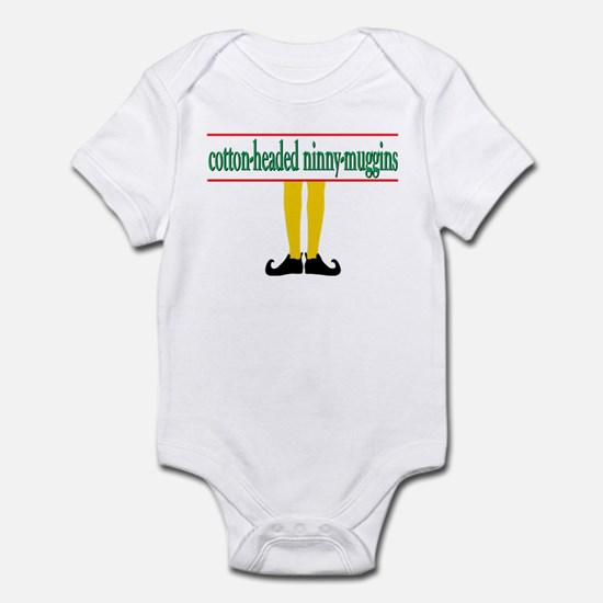 cotton-headed ninny muggins Infant Bodysuit