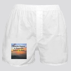GODS MIRACLES Boxer Shorts