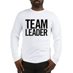 Team Leader (black) Long Sleeve T-Shirt