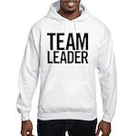 Team Leader (black) Hooded Sweatshirt