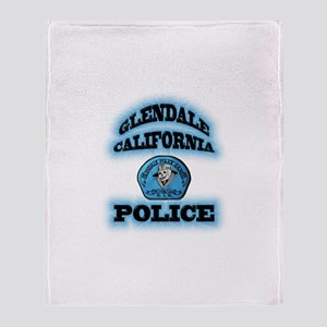 Glendale PD Gang Squad Throw Blanket