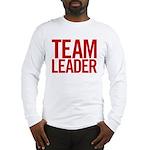 Team Leader (red) Long Sleeve T-Shirt
