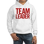 Team Leader (red) Hooded Sweatshirt