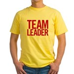 Team Leader (red) Yellow T-Shirt