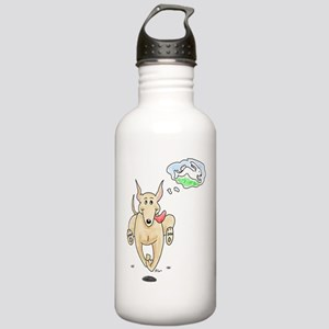 Fawn Greyhound Dream Stainless Water Bottle 1.0L
