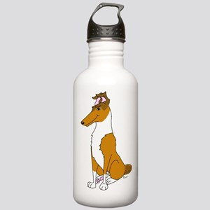Smooth Sable Collie Stainless Water Bottle 1.0L