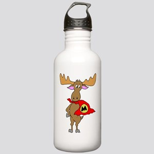 Superhero Moose Stainless Water Bottle 1.0L