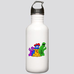 Germ Family Photo Stainless Water Bottle 1.0L