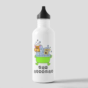 Pet Groomer Stainless Water Bottle 1.0L