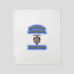 Escondido Fire Department Throw Blanket