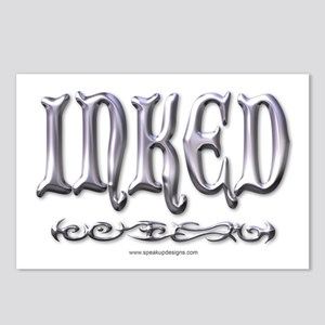Chrome Inked Postcards (Package of 8)