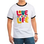 Love The Simple Life Ringer T