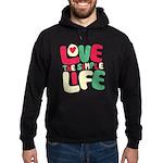 Love The Simple Life Hoodie (dark)