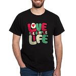 Love The Simple Life Dark T-Shirt