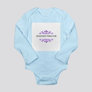 Assistant Director Name Badge Long Sleeve Infant B