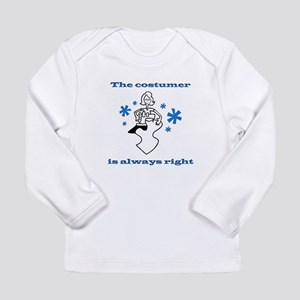 Costumer Sewing Long Sleeve Infant T-Shirt