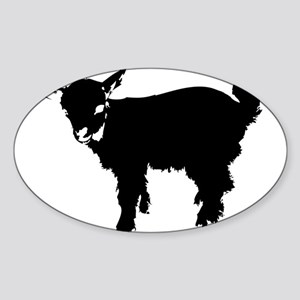 Black Baby Goat Sticker