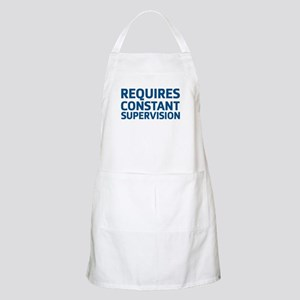 Requires Supervision Apron