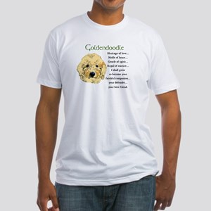 Goldendoodle Fitted T-Shirt