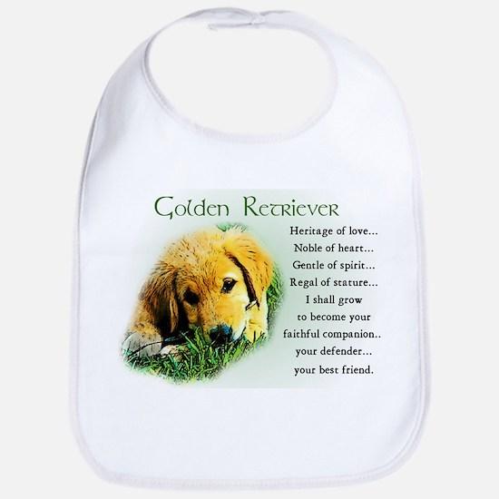 Golden Retriever Bib