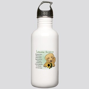 Labrador Retriever Stainless Water Bottle 1.0L