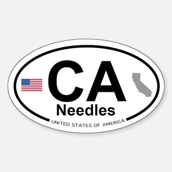 Needles Sticker (Oval)