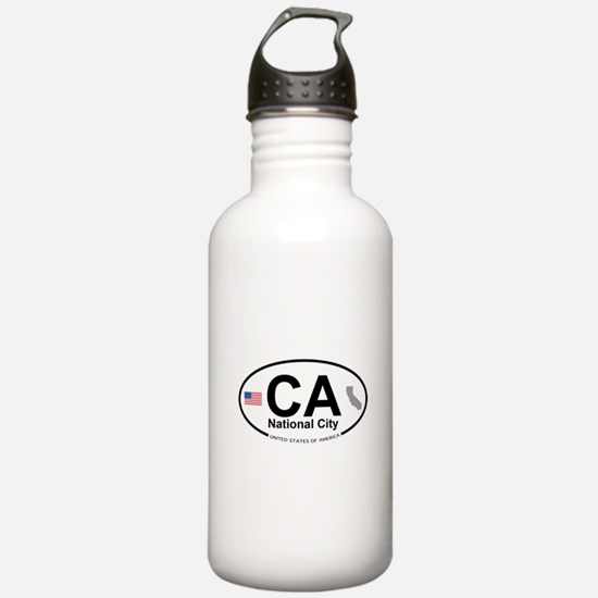 National City Water Bottle