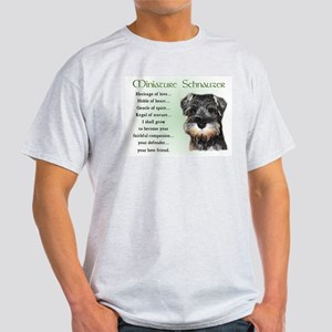 Miniature Schnauzer Light T-Shirt
