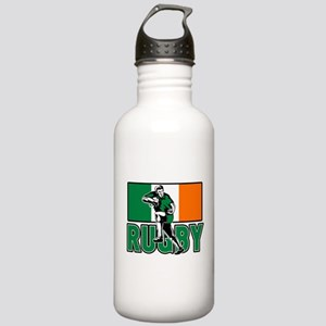 rugby ireland flag Stainless Water Bottle 1.0L
