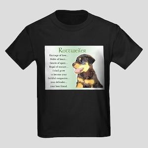 Rottweiler Kids Dark T-Shirt