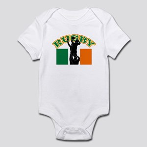 Rugby lineout ireland Infant Bodysuit