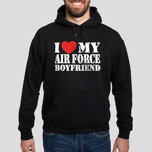 Air Force Boyfriend Hoodie (dark)