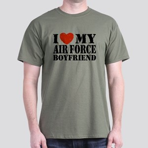 Air Force Boyfriend Dark T-Shirt