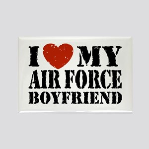 Air Force Boyfriend Rectangle Magnet