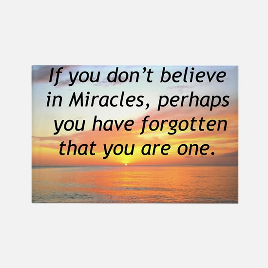 GODS MIRACLES Rectangle Magnet