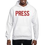Press (red) Hooded Sweatshirt