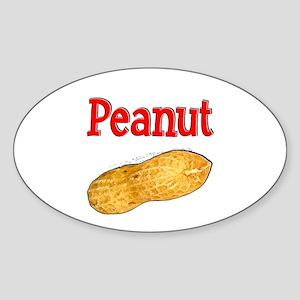 Peanut Sticker (Oval)