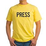 Press (black) Yellow T-Shirt