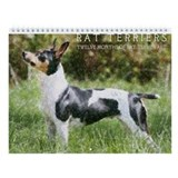Rat terrier Wall Calendars