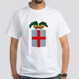 Genova Coat of Arms White T-Shirt