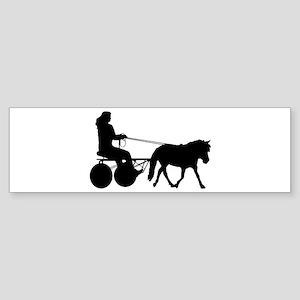 driving silhouette Sticker (Bumper)