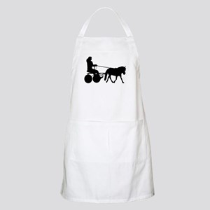 driving silhouette Apron