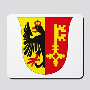 Geneva Coat of Arms Mousepad