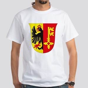 Geneva Coat of Arms White T-Shirt
