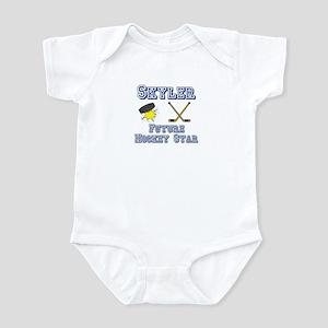 Skyler - Future Hockey Star Infant Bodysuit