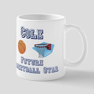 Cole - Future Basketball Star Mug