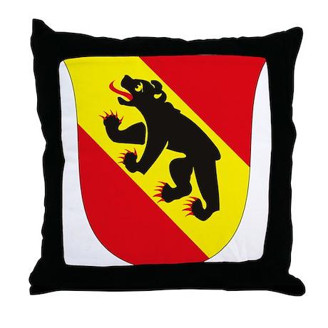 Bern Coat of Arms Throw Pillow