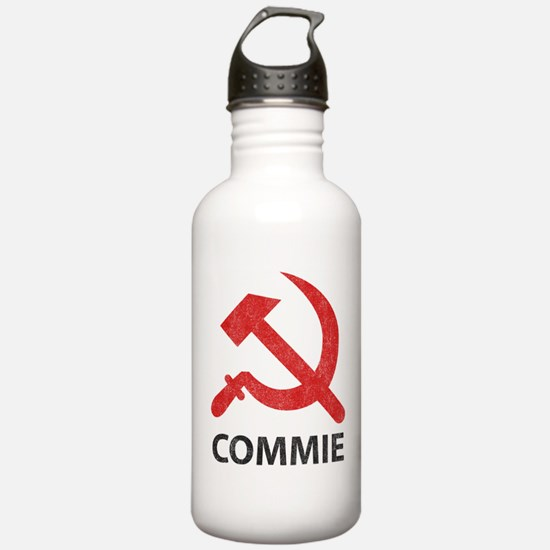 Vintage Commie Water Bottle