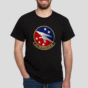 54th Air Refueling Black T-Shirt